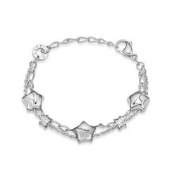 Kenny & co. - Share Of Love 3 Stars Steel Bracelet