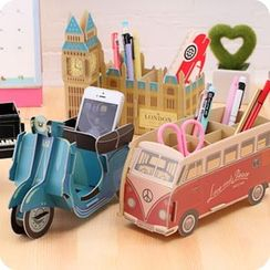 Fun House - DIY Desktop Organizer