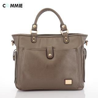 B.B. HOUSE - Faux-Leather Shoulder Bag