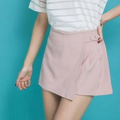 PUFII - Button-Tab Mini Skort