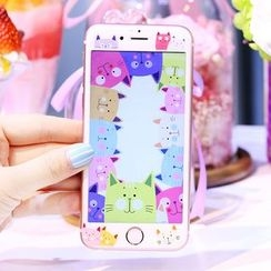 Sea Girl - Cat Print iPhone 6 / 6S / 6 Plus / 6S Plus Tempered Glass Screen Protective Film