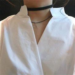 Alfie - V-Neck Loose-Fit Lantern Sleeve Shirt