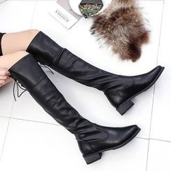 Yoflap - Pointy Over The Knee Boots