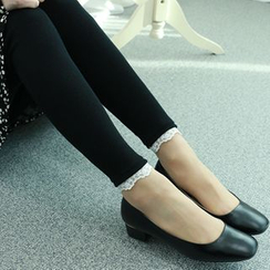 Dodostyle - Lace-Trim Leggings
