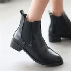 YOOM - Faux-Leather Ankle Boots