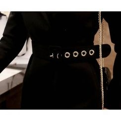 Marlangrouge - One Button Coat with Belt