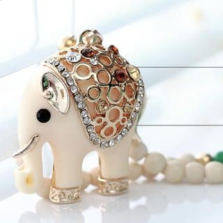 Cuteberry - Elephant Beaded Necklace
