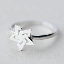 A'ROCH - 925纯银星星纯银指环