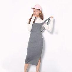 Everies - Knit Midi Jumper Dress