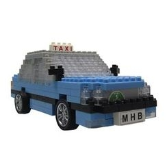 M.H. Blocks - Hong Kong Taxi Toy Building Blocks