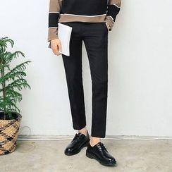 MEOSIDDA - Pocket-Side Tapered Dress Pants