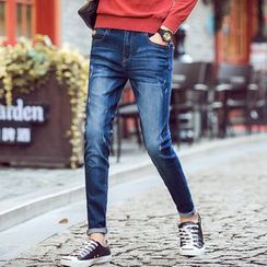 Denimic - Washed Jeans