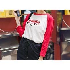 Wimi girls - Car Print T-Shirt