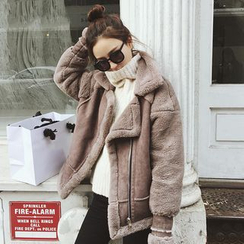 Ashlee - Faux Suede Jacket