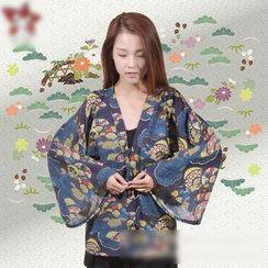 Comic Closet - Printed Kimono Jacket