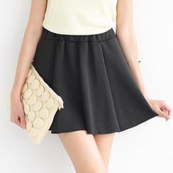 SO Central - Band-Waist A-Line Skirt