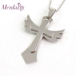 Menku - Cross & Wings Pendant