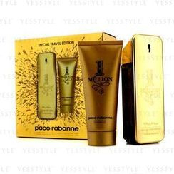 Paco Rabanne - One Million Special Travel Edition Coffret: Eau De Toilette Spray 100ml/3.4oz + Shower Gel 100ml/3.4oz