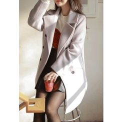 MyFiona - Double-Buttoned Boxy-Fit Coat