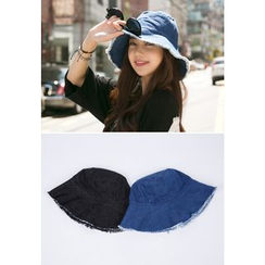 REDOPIN - Frey-Trim Cotton Sun Hat