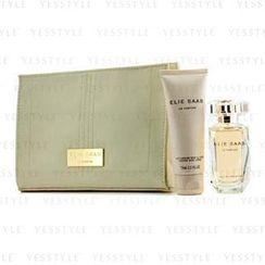 Elie Saab - Le Parfum Coffret: Eau De Toilette Spray 50ml/1.6oz + Body Lotion 75ml/2.5oz + Beauty Pouch