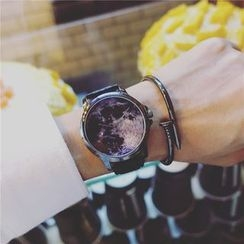 Tacka Watches - Galaxy Print Strap Watch