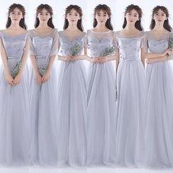 MSSBridal - 短袖 / 中袖伴娘裙