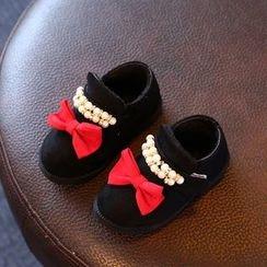 綠豆蛙童鞋 - 兒童綴飾鞋