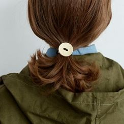 BAIMOMO - 飾鈕扣髮圈