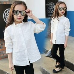 Pegasus - Kids Frill Collar Shirt