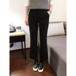 hellopeco - Boots-Cut Dress Pants