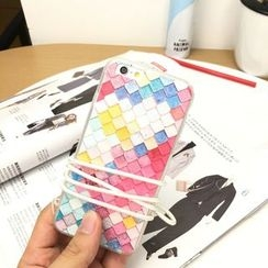 Stardigi - Patterned Phone Case with Neck Strap - Apple iPhone 5 / 6 / 6 Plus