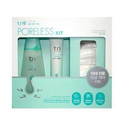 tn - Set: Poreless Toner 120ml + Essence 30ml + Cotton Pads