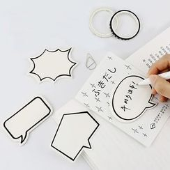 Homey House - Speech Bubble Memo Pad