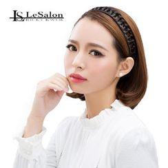 LeSalonWigs - Hair Accessory - Braid Hair Band (Eye-Catching)