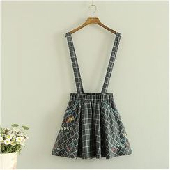 Storyland - Check Jumper Skirt