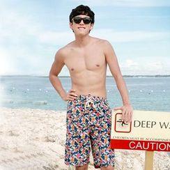 Tamtam Beach - Floral Beach Shorts