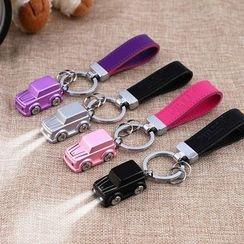 MILESI - LED Car Key Chain