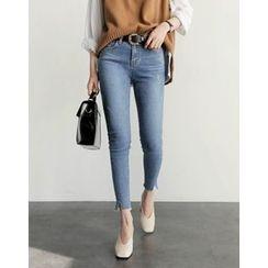 UPTOWNHOLIC - Washed Skinny Jeans