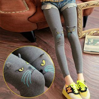 Clair Fashion - Cat Accent Leggings