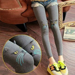 Clair Fashion - Cat Accent Leggings