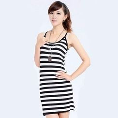 Coshield - Striped Slipdress