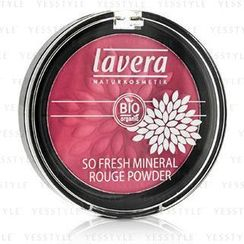 Lavera - So Fresh Mineral Rouge Powder - # 04 Pink Harmony Velvet