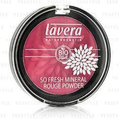 Lavera - So Fresh Mineral Rouge Powder - # 04 Pink Harmony Velvet