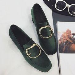 QQ Trend - Block Heel Loafers