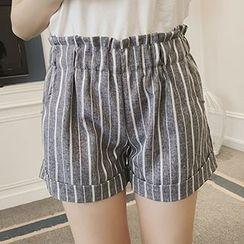 Glen Glam - 条纹短裤