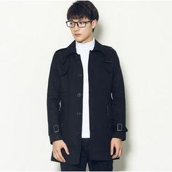 Consto - Single-Breasted Trench Jacket