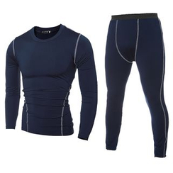 Hansel - Sport Set: Quick Dry Long-Sleeve Top + Pants