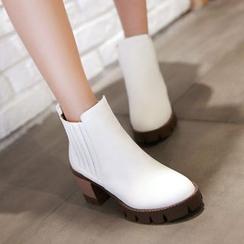 ZIMA - 粗跟及踝靴