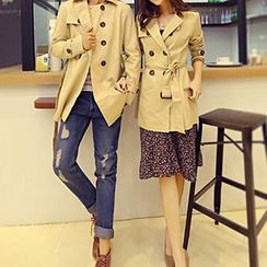Azure - Couple Matching Trench Coat
